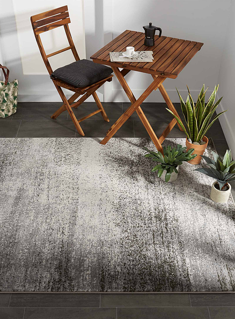 Grizzled rug - Area Rugs - Patterned Grey
