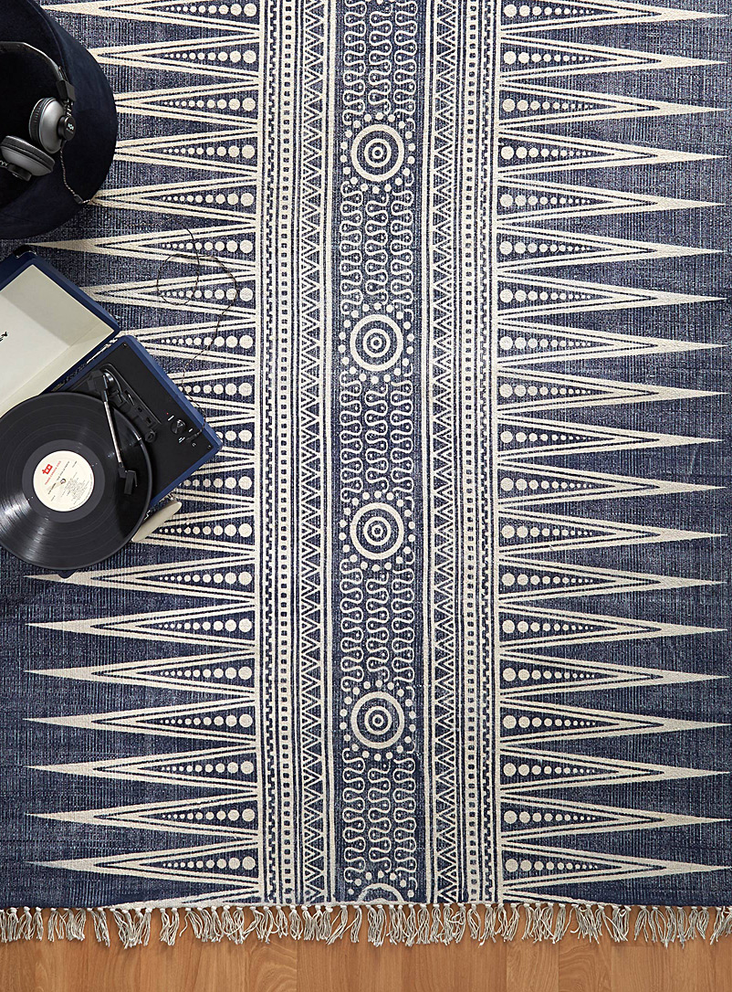 Passage rite rug - Area Rugs - Patterned Blue