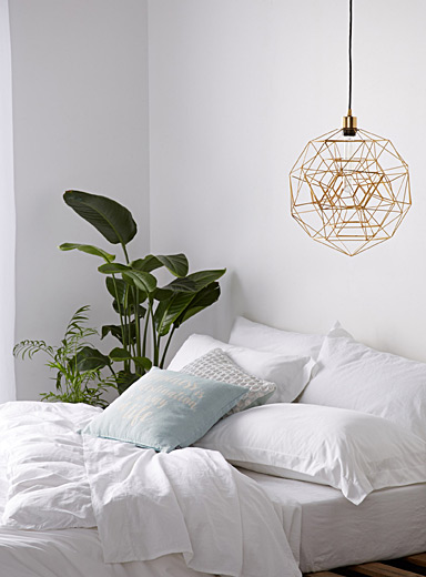 Architectural hanging lamp