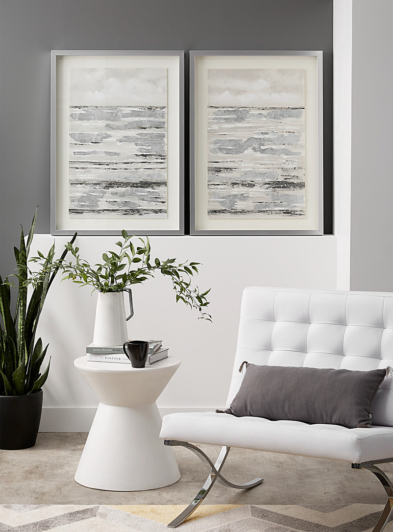 Simons Maison Assorted Set of two horizon line art prints