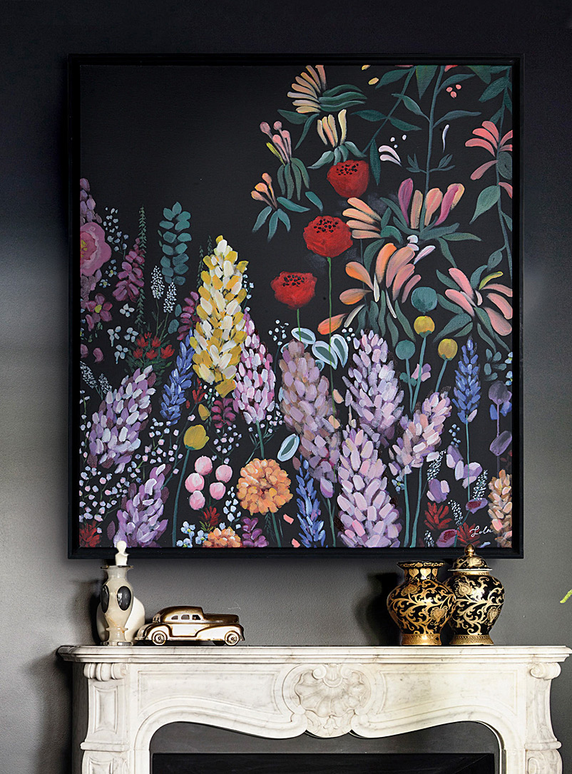 Simons Maison Assorted Midnight garden art print