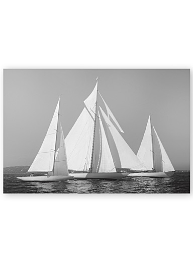 Sailing Together wall art  22&quote; x 33&quote;