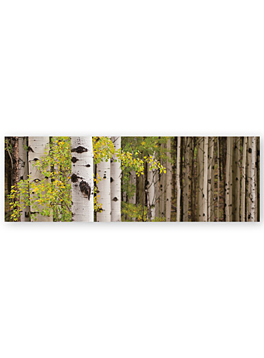 White Forest Standing wall art  45&quote; x 15&quote;