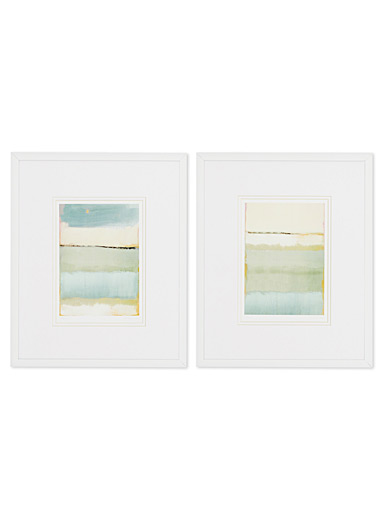 Noon I & II 2-piece art print set  10&quote; x 13&quote;