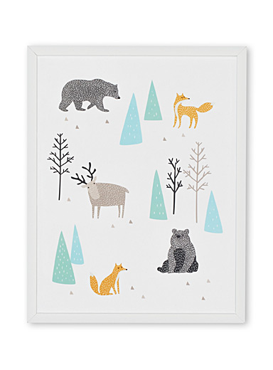 Let's take a walk through the woods art print  11&quote; x 14&quote;