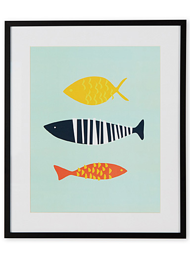 Like a fish in water II art print  15&quote; x 18&quote;