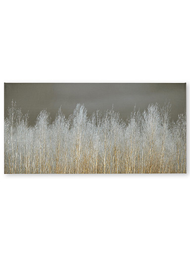 Silver Forest canvas print  3 sizes available