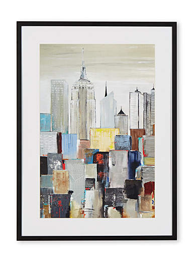 New York Skyline I art print  16&quote; x 22&quote;