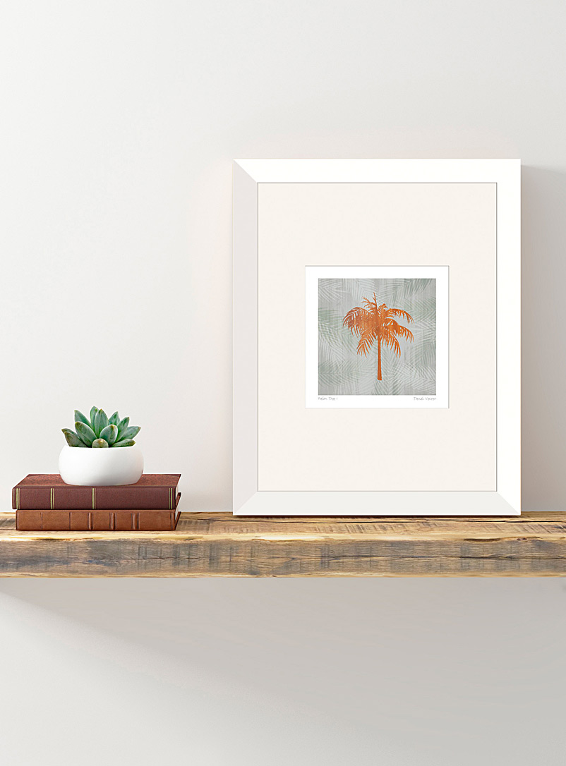 Simons Maison White Palm Tree II art print  11