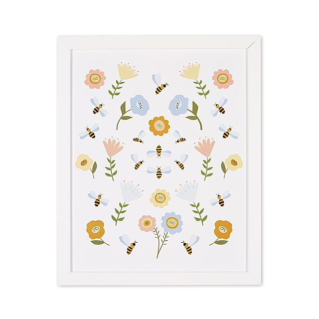 flower-and-bee-art-print