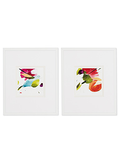 "Subtlety 2-piece art print set  10"" x 13"""