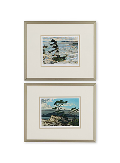 White Pine 2-piece art print set  10&quote; x 13&quote;