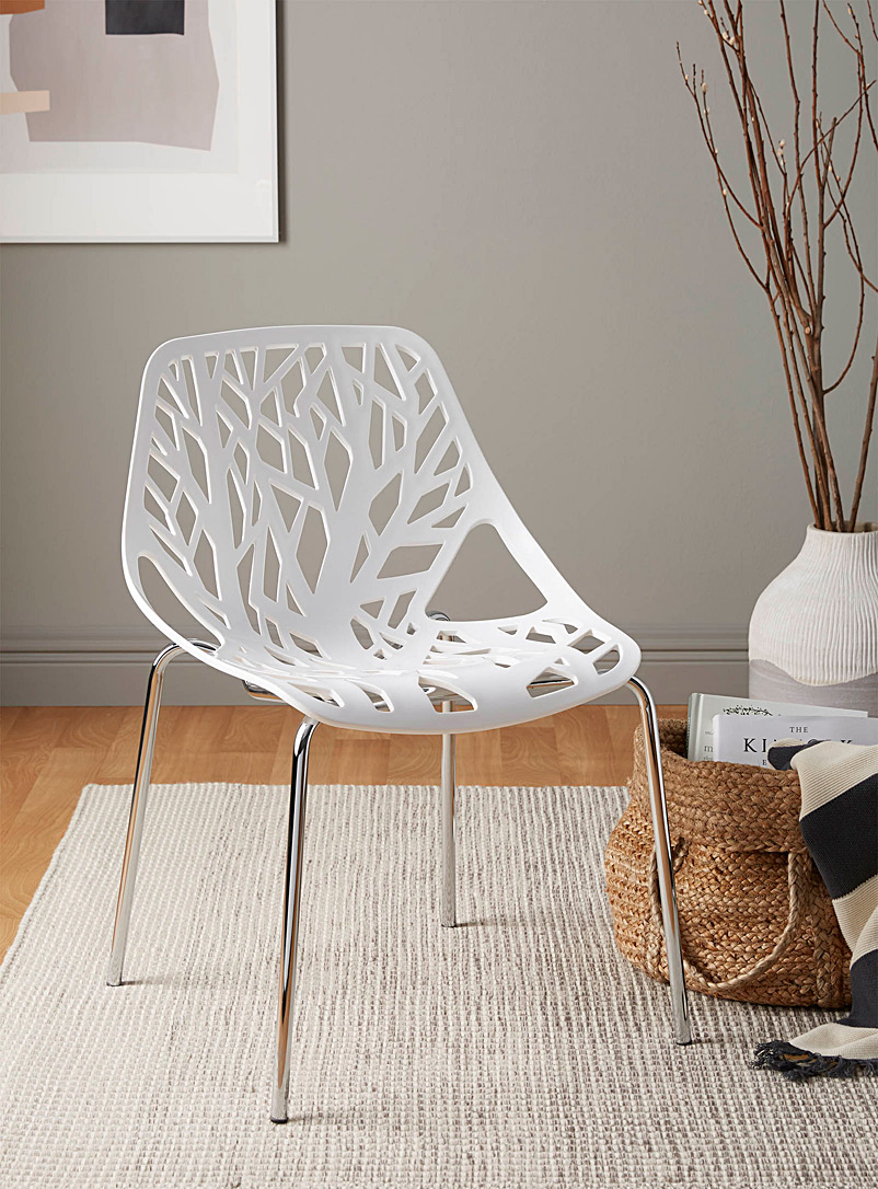 Simons Maison White Lush forest chair