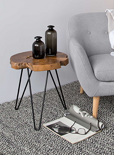 Simons Maison Assorted Natura Hairpin side table