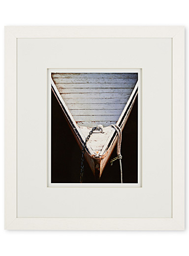 Wooden Rowboats II art print  23&quote; x 26&quote;
