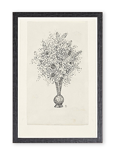 Flower bouquet art print <br>13