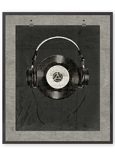 Music lovers art print  21&quote; x 25&quote;