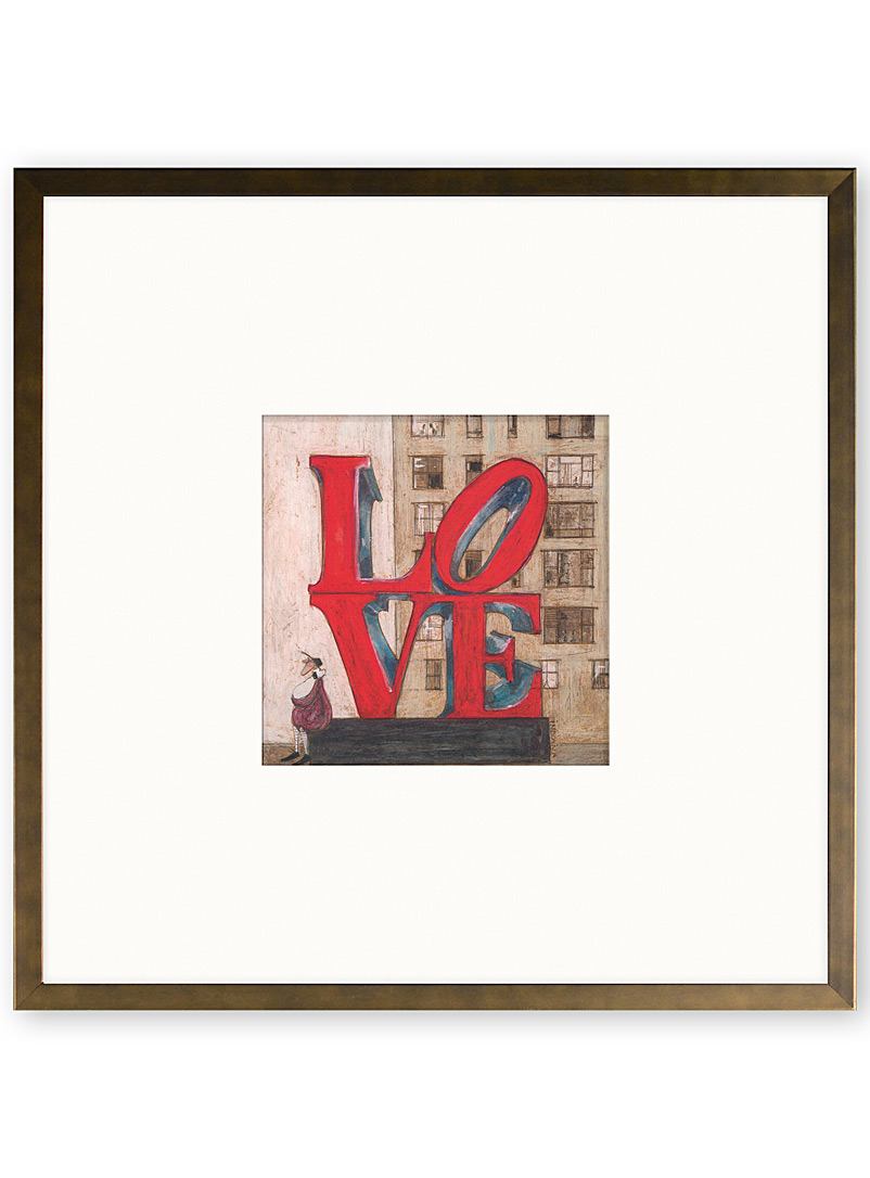 Love art print  14&quote; x 14&quote; - Graphic - Assorted