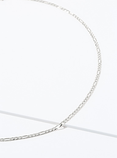 Figaro long chain necklace