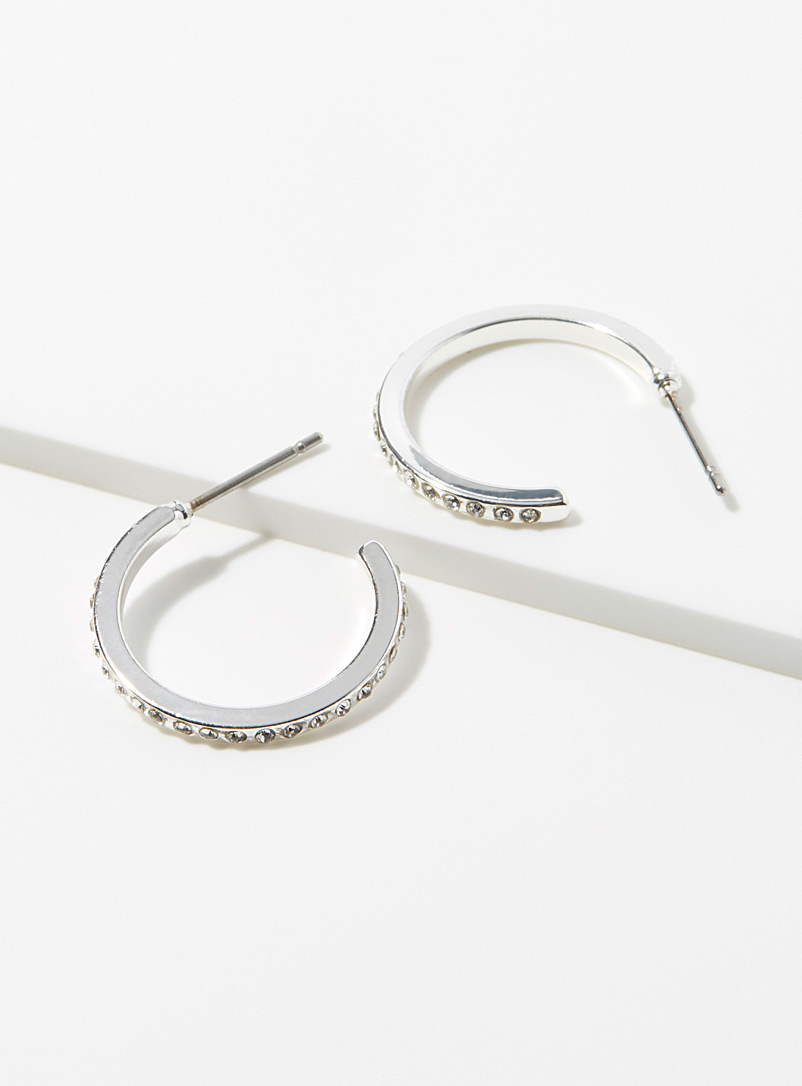 stone-insert-mini-hoop-earrings