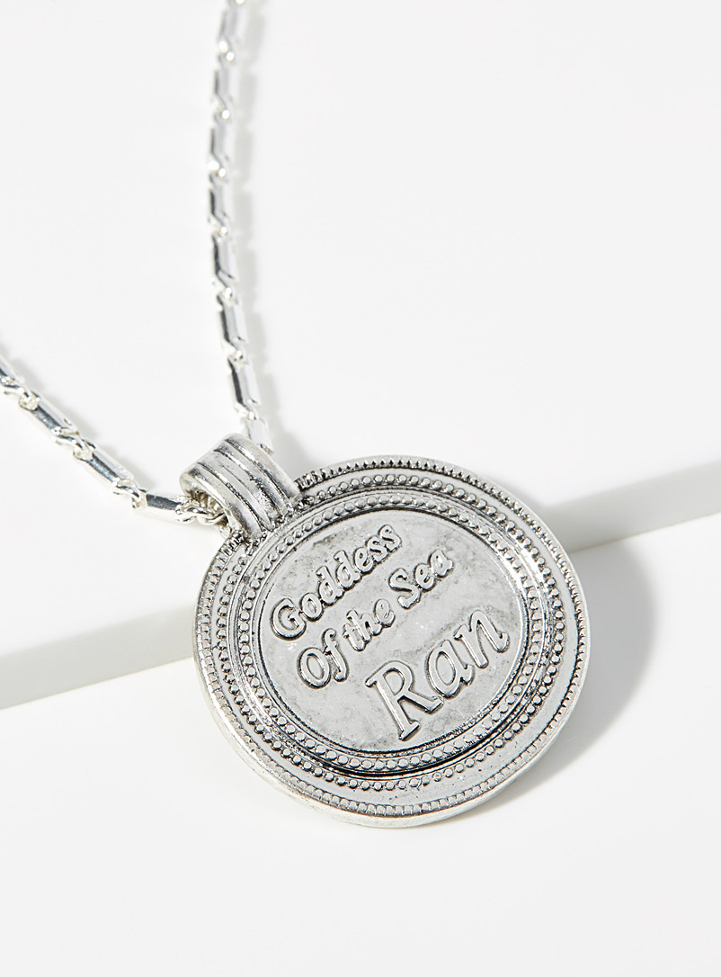 Goddess of the sea necklace - Necklaces - Silver