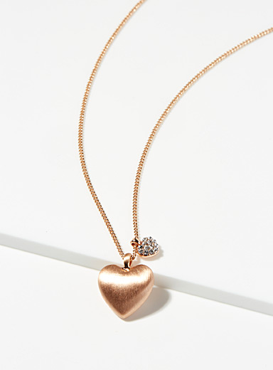 Lovers hearts necklace