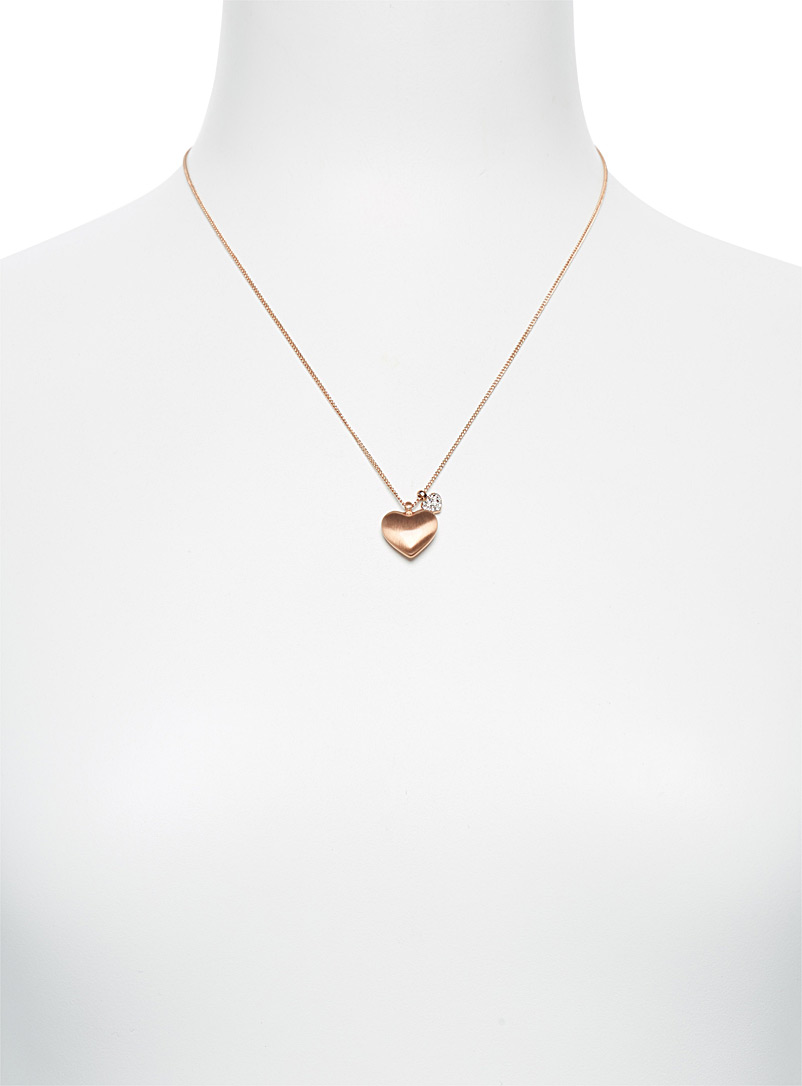 Le collier coeurs amoureux - Colliers - Assorti