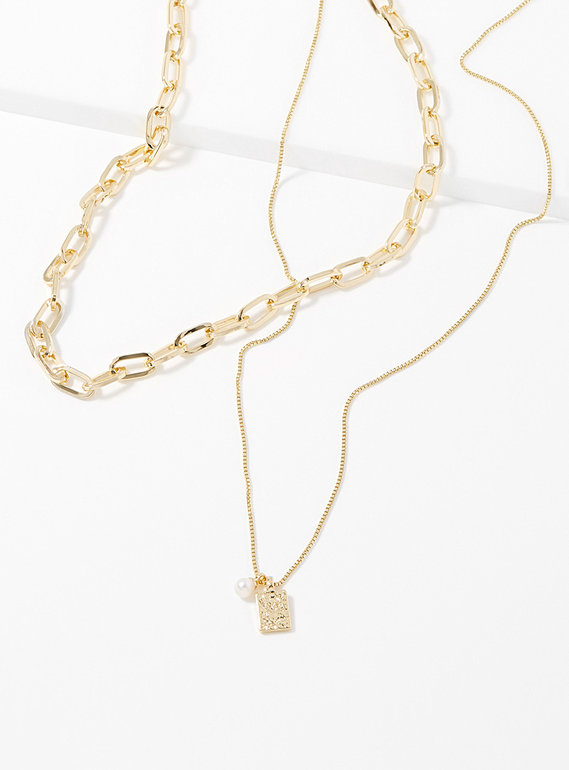 Pilgrim Assorted Hana two-in-one necklace for women