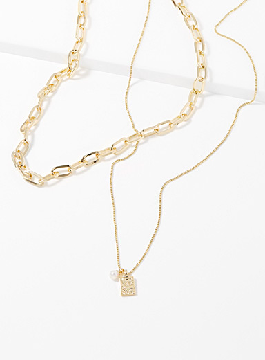 Hana two-in-one necklace