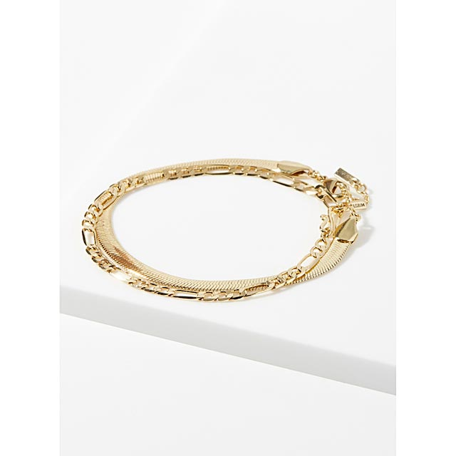 modern-chain-bracelets-set-of-2