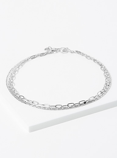 3-in-1 look anklet