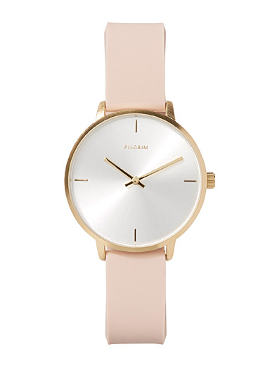 Pinky beige watch