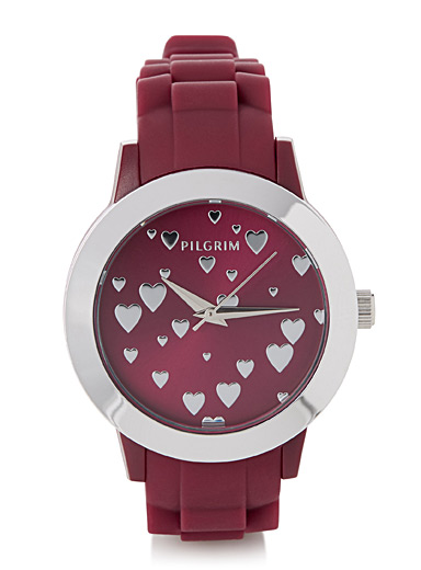Adeline small hearts watch