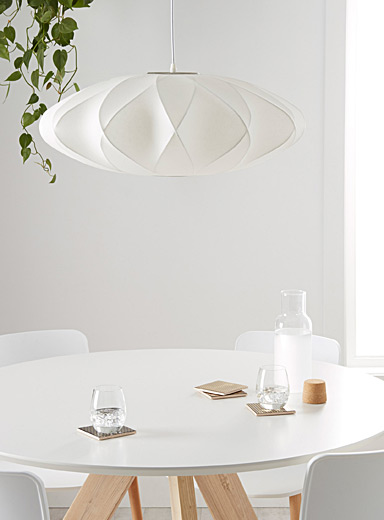 Waves hanging lamp