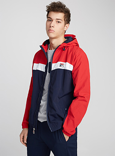Clipper windbreaker