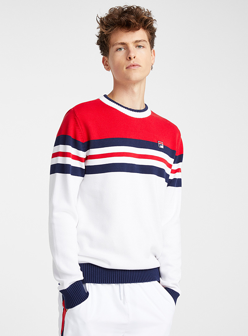 tricolour-striped-band-sweater