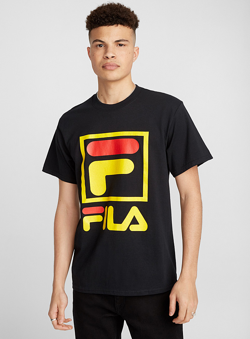 Framed mega logo T-shirt - Logo wear - Black