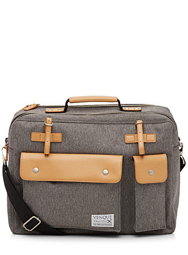 Grey Milano briefcase