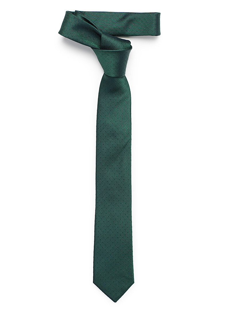 Mini dot tie - Skinny Ties - Green