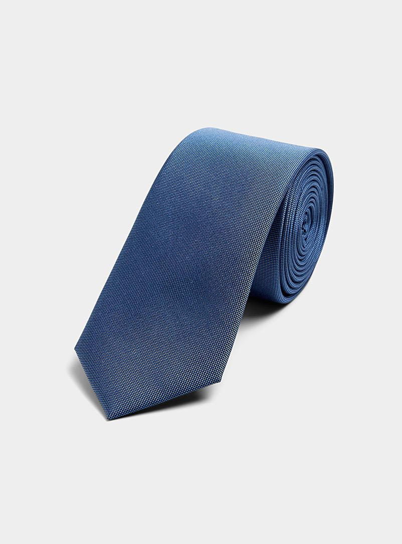 Le 31 Baby Blue Iridescent coloured tie for men