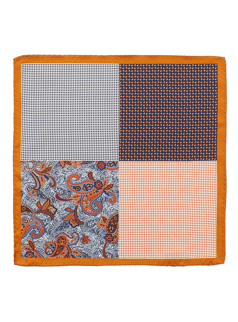 4-in-1 colourful pocket square - Pocket Squares & Scarves - Toast