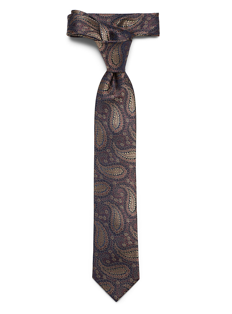 Le 31 Assorted Paisley mosaic tie for men