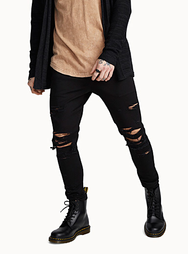 Thrasher ripped joggers  Skinny fit