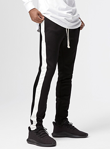 Two-tone track pant