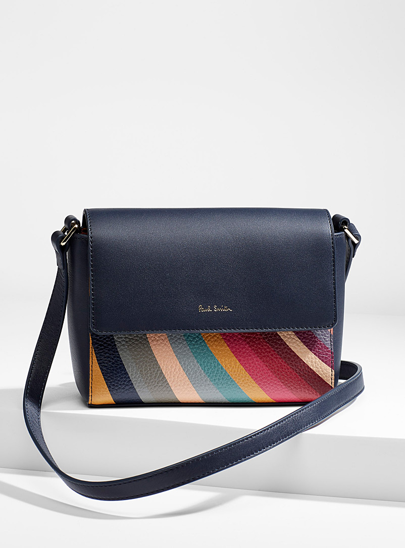 Paul Smith Black Swirl bag for women