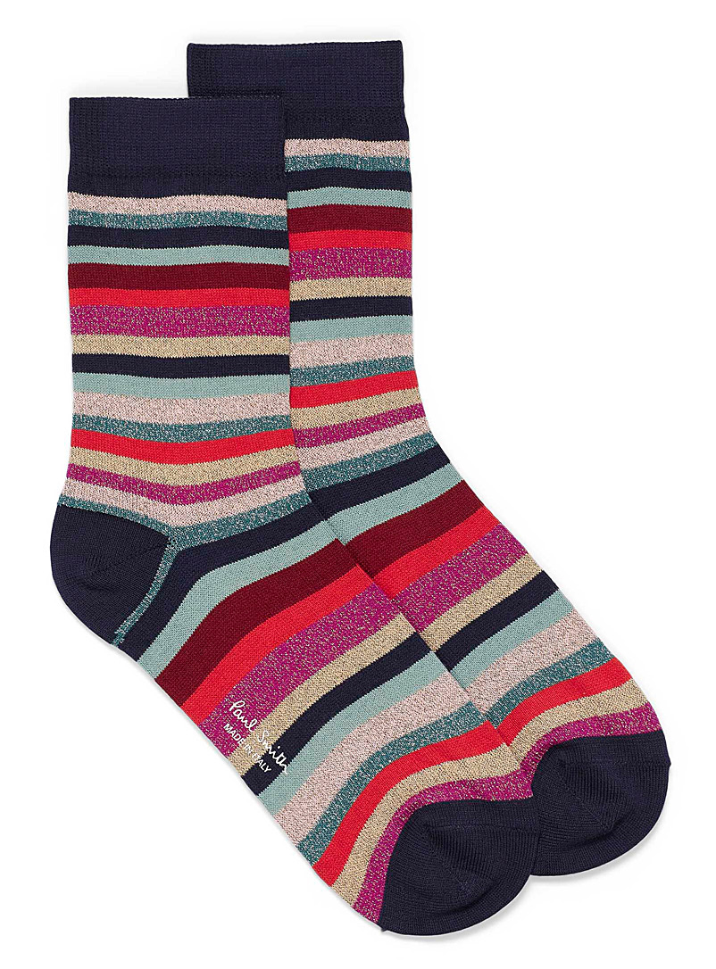 Paul Smith Black Clarissa socks for women