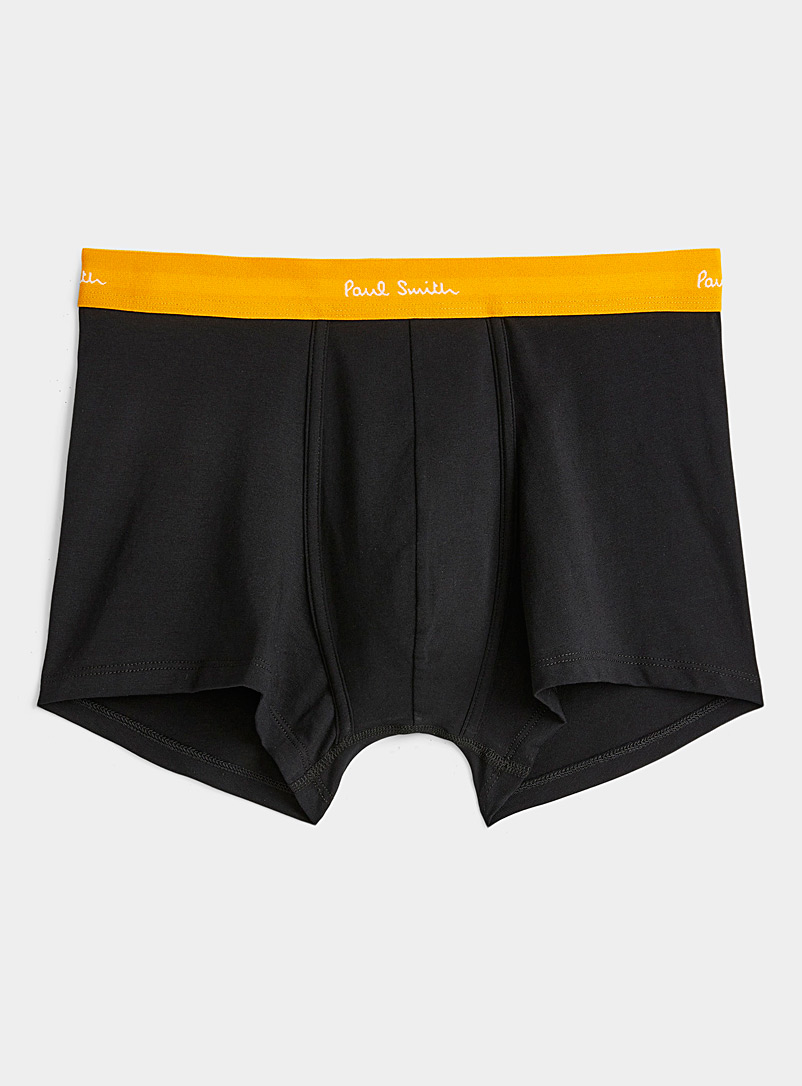 Paul Smith Golden Yellow Colourful accent trunk for men