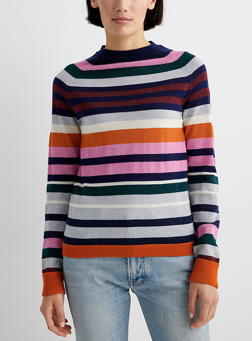PS Paul Smith Assorted Multicoloured wool and lurex sweater for women