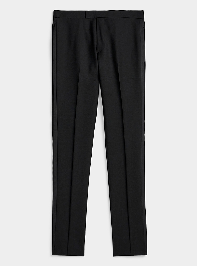 Paul Smith Black Evening pant for men