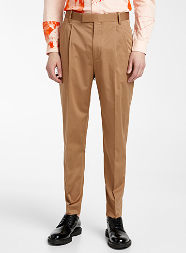 Paul Smith: Le pantalon chic Tan beige fauve pour homme